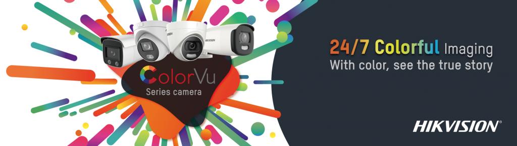 Hikvison Colour Vu cameras